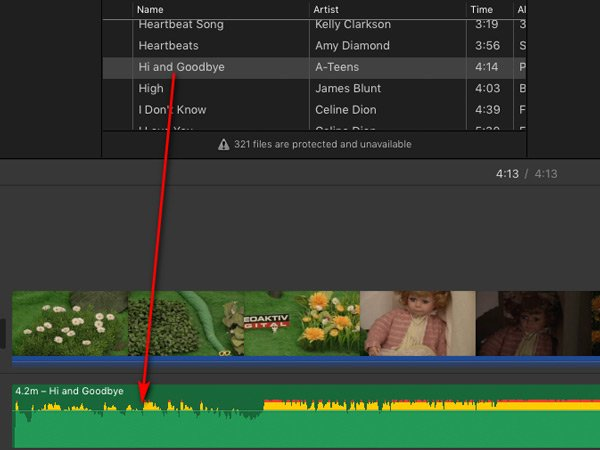 Quick Fix: Add Apple Music to iMovie Project as Background Music