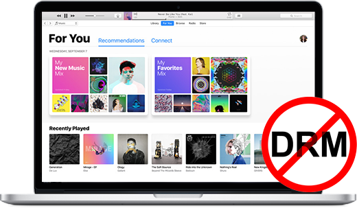 Apple Music DRM Removal using Apple Music Converter