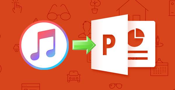 Apple Music to PowerPoint