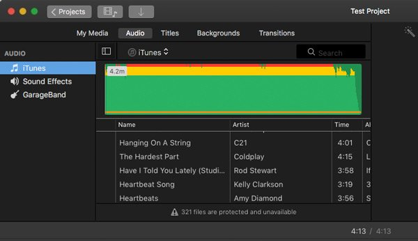 unprotecting itunes songs