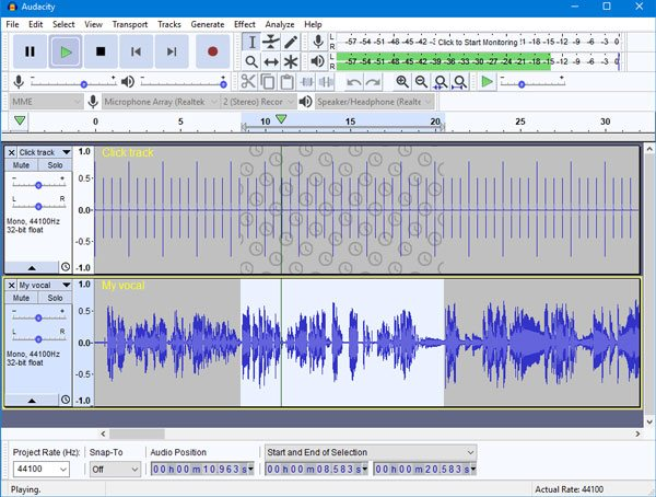 Rip Spotify Songs with Audacity