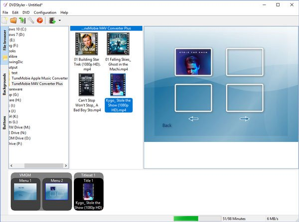 How to Burn iTunes M4V Videos to DVD