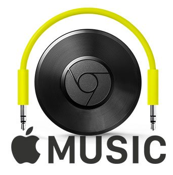 Cast Apple Music to Speaker with Chromecast Audio