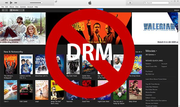 2018 Top 5 iTunes Video DRM Removal Software