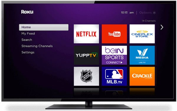 Enjoy iTunes movies on Roku TV