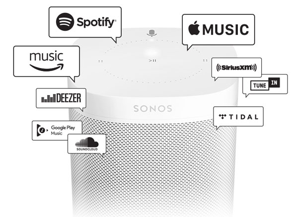 Streaming Music Services on Sonos