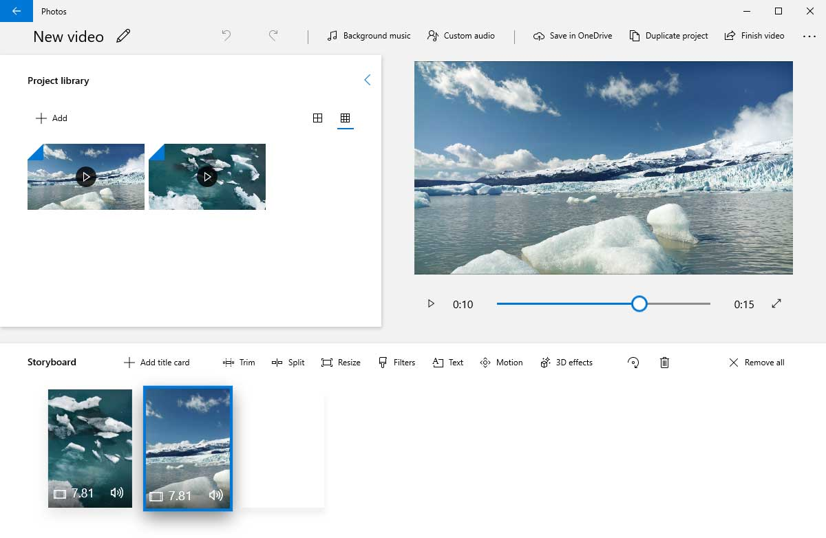 Add Apple Music to Windows 10 Photos as Background Music