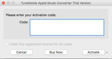 Activate Apple Music Converter for Mac