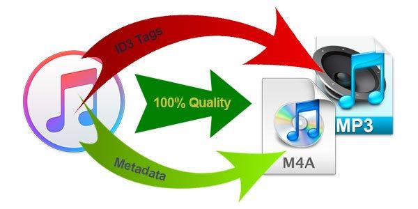 Apple Music Converter, Audiobook Converter, M4P to MP3, iTunes Audio