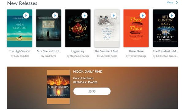 Nook AudioBooks: Nook Daily Find