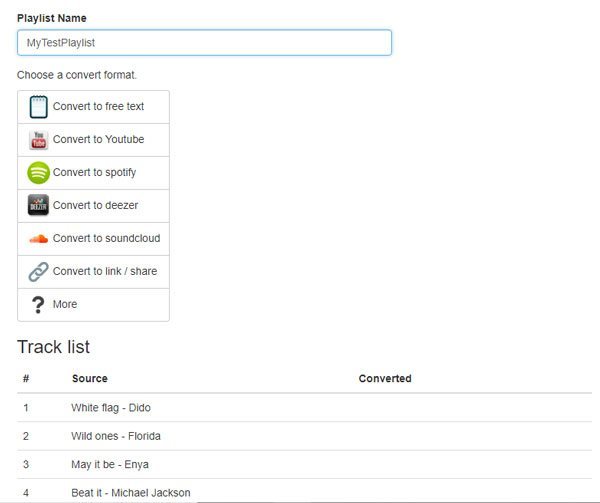 Free Online Spotify Playlist Converter: Create Spotify Playlist from