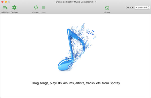 Spotify to MP3 Converter Interface